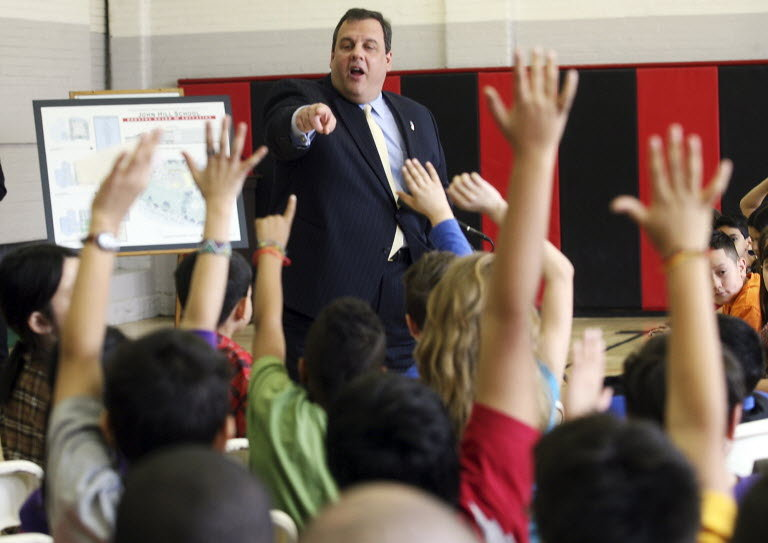 Christie walking back support for Common Core?
