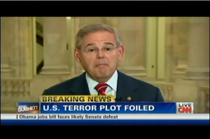 Menendez on TV