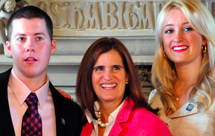 Christie Family Goes 'All In' for LD38 Victory