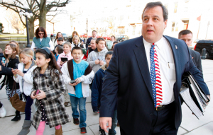 christie with kids