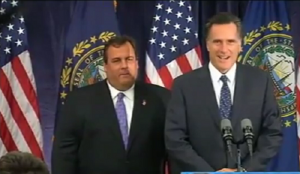 Romney and Christie