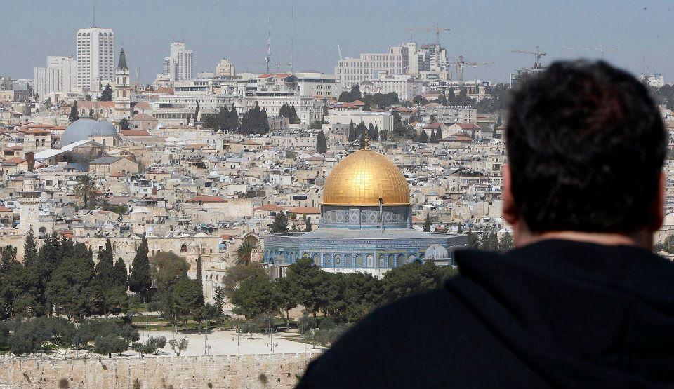 christie in jerusalem