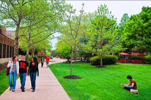 The Rutgers-Camden Campus in Camden, New Jersey.