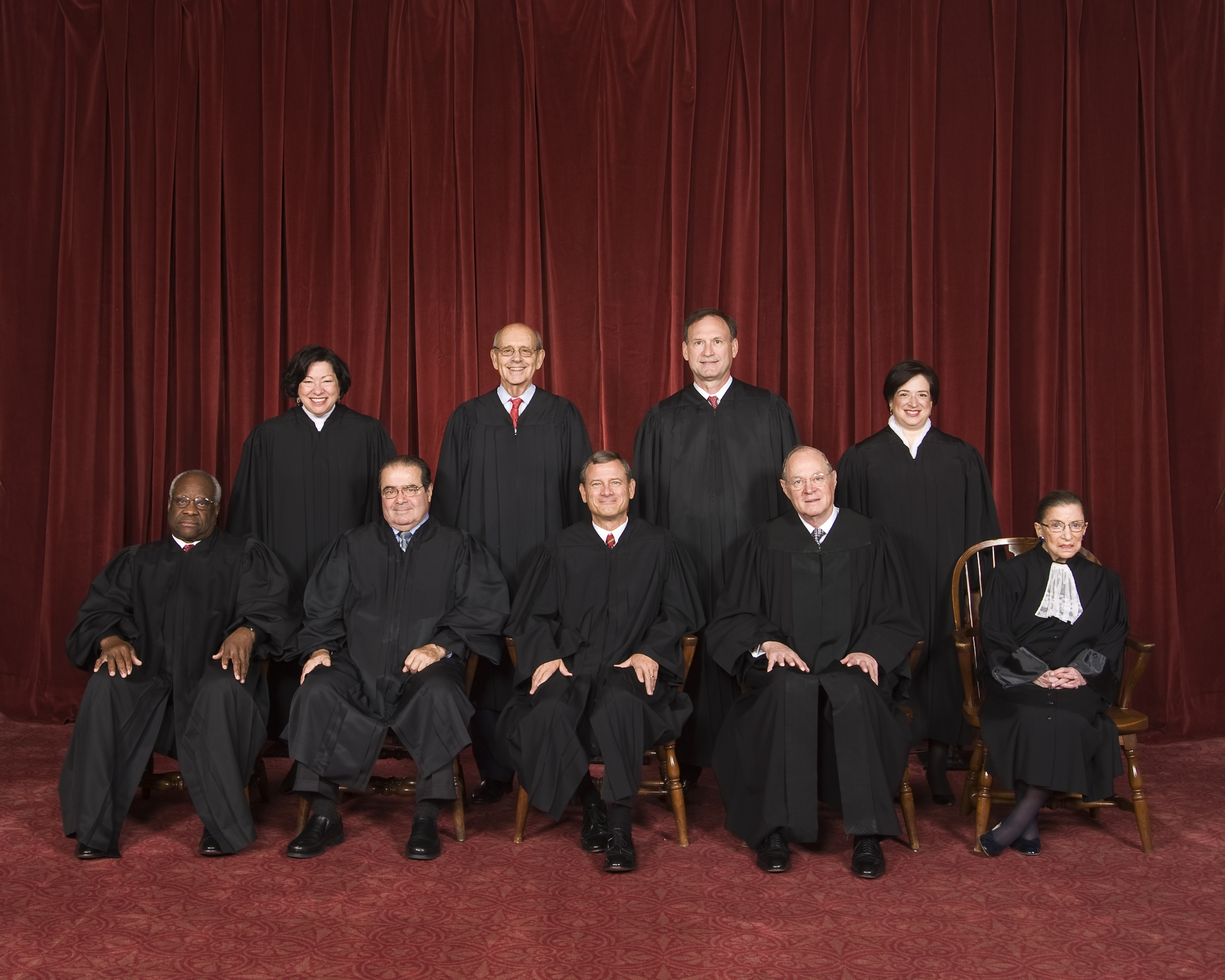 High Court: Dem Justices Don't Stray; Others Do