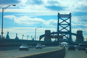 The Ben Franklin Bridge