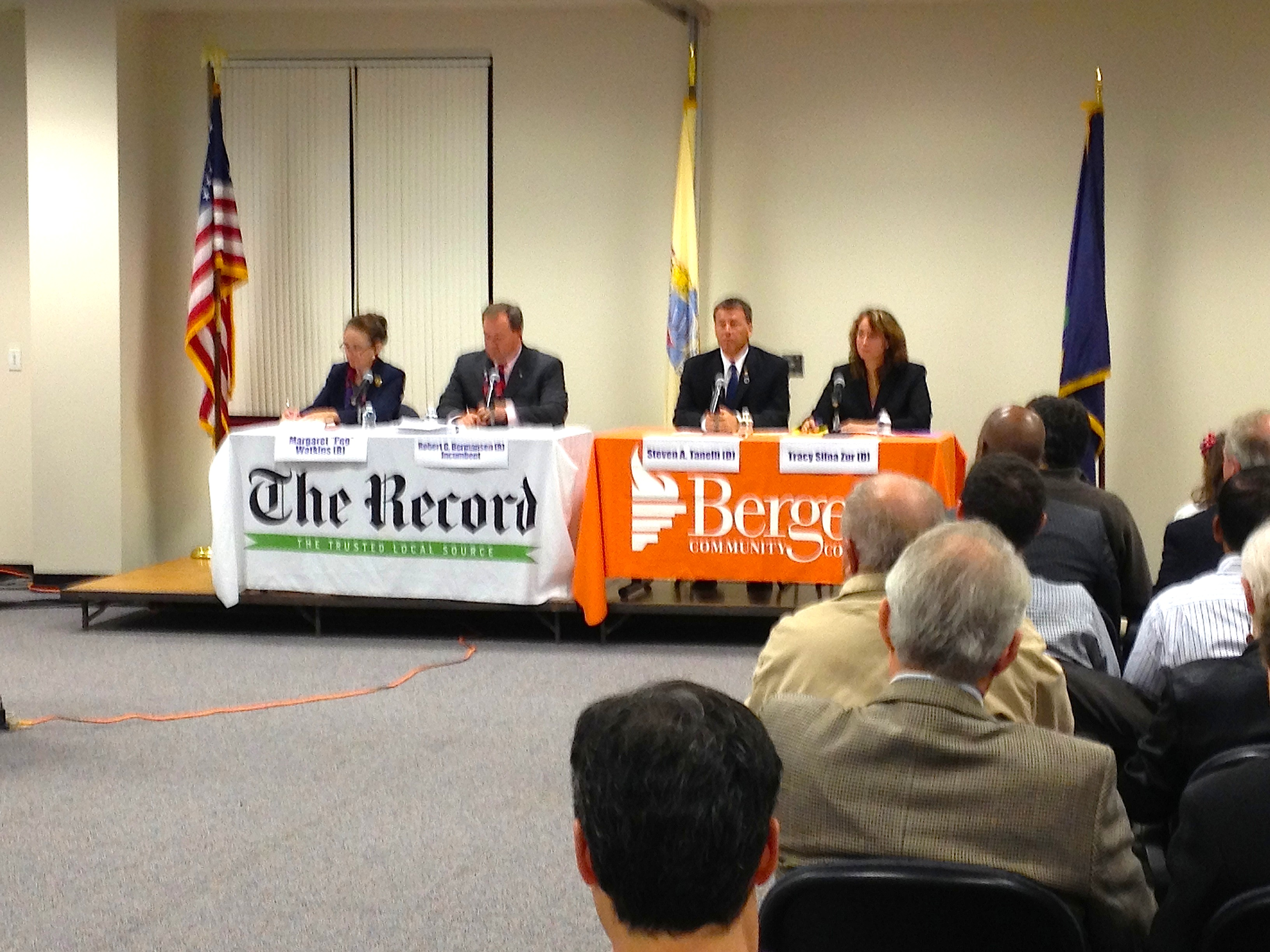 Bergen Freeholder Race: GOP Spars with Democrats in Rigid Format at BCC Paramus
