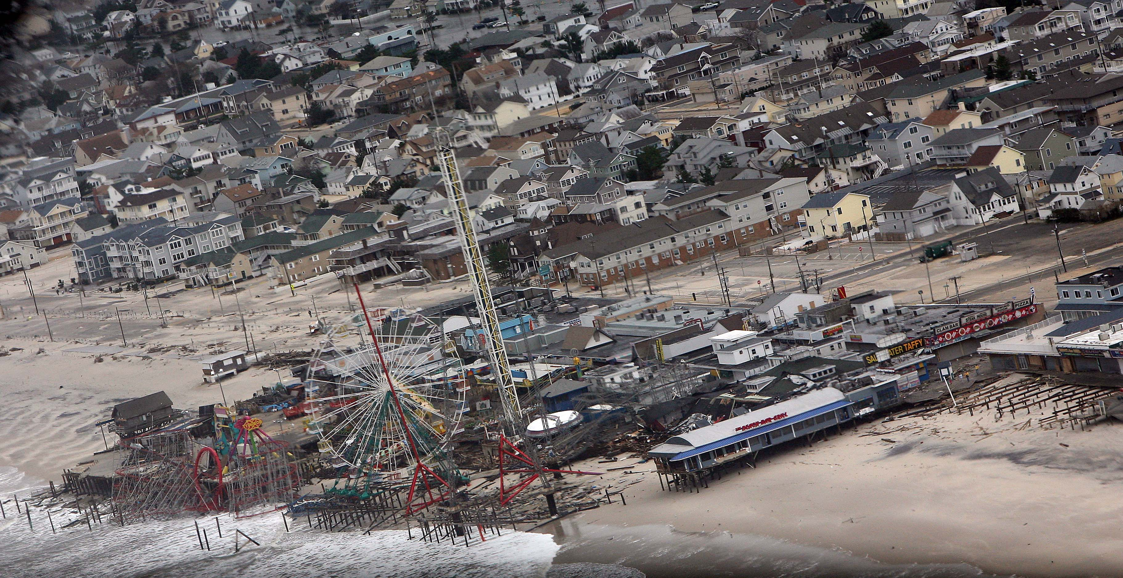 REPORT: 72,000 New Jersey Properties Damaged or Destroyed by Superstorm Sandy