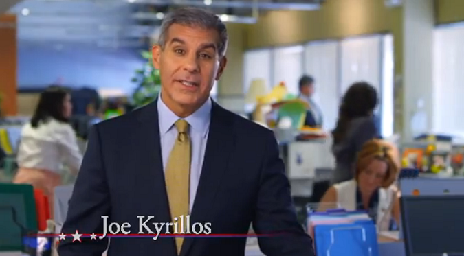 Kyrillos Releases New TV Ad Focusing On Jobs, Taxes, But Zero Contrast (VIDEO)