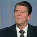 Ronald Reagan at the 1980 Debate