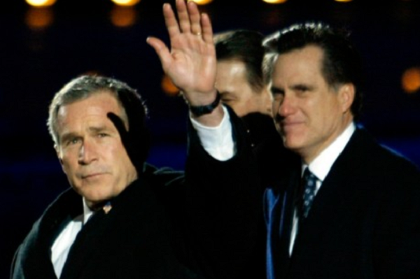 Bush and Romney