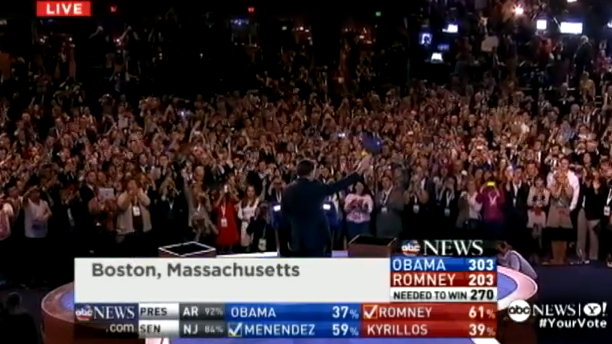 Romney concession speech