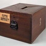 Wooden Ballot Box
