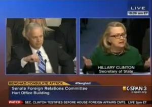 Hillary's infamous Benghazi testimony