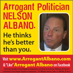 Arrogant Albano Ad