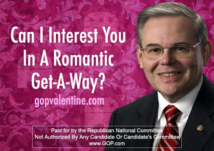 Menendez V-Day Card