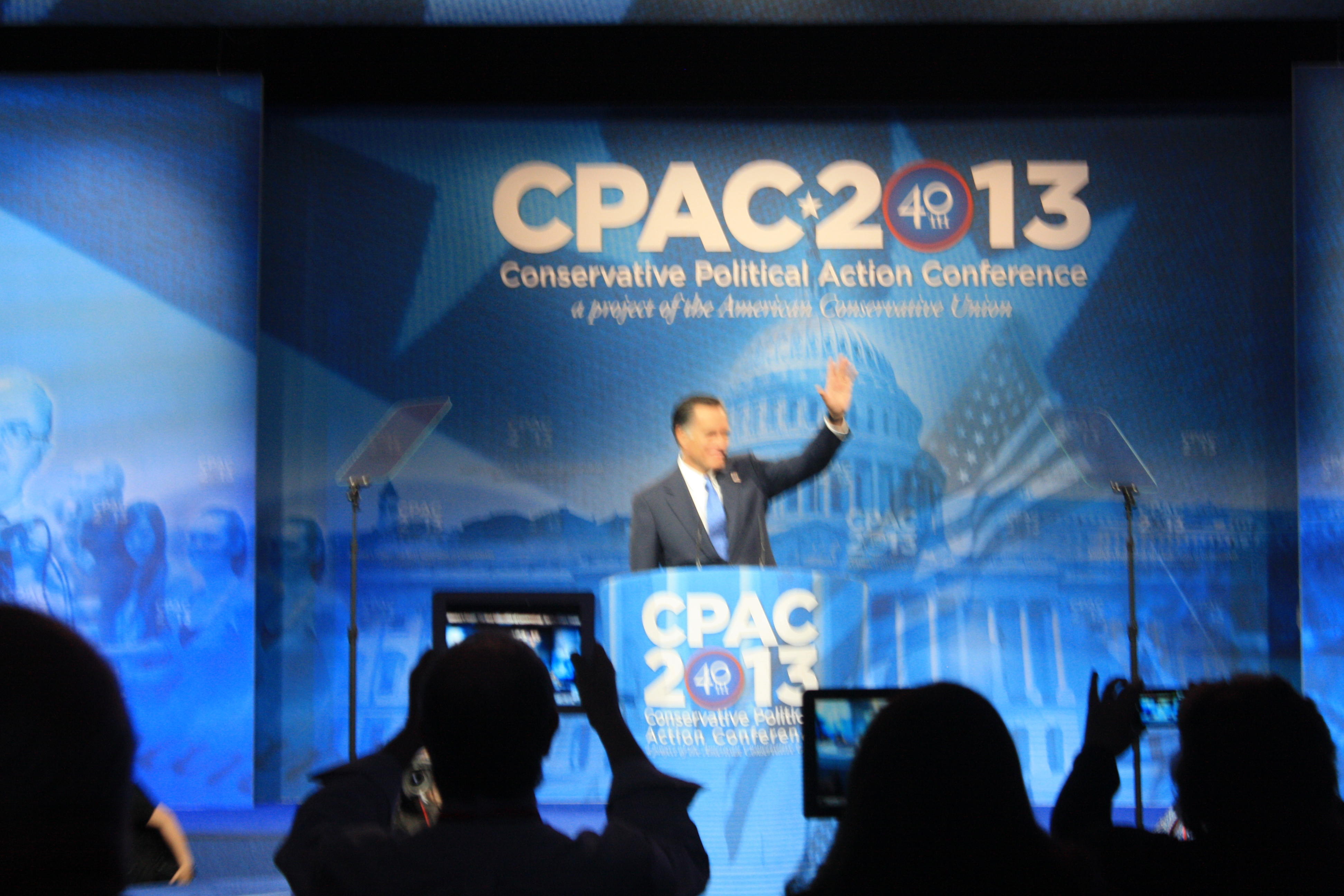 Romney Rocks CPAC and Reps Christie