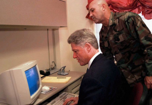 Bill Clinton Internet