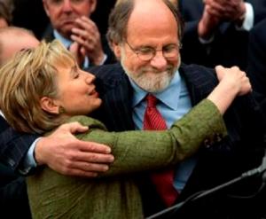 Clinton and Corzine