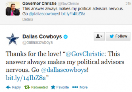 Christie Dallas Tweet