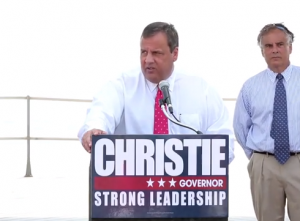Christie in Long Branch