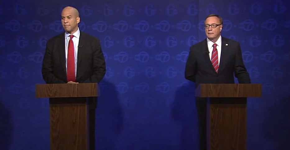 Lonegan and Booker debate