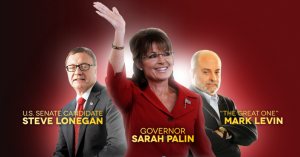 TeaPartyExpress.org is advertising Governor Palin's New Jersey event with this banner.