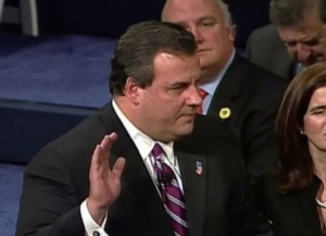 christie oath of office