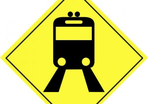 incoming-train-sign
