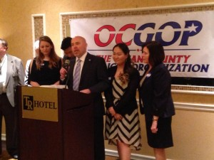 Tom MacArthur at the Ocean County Convention