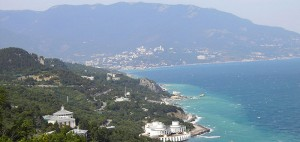 View of Yalta from the Tsar's Path in Crimea