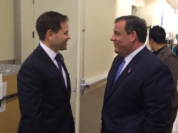 REPORT: Rubio tries to make peace with Christie