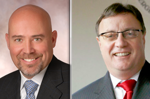 Tom MacArthur (left) and Steve Lonegan (right) are vying for the CD3 GOP nomination.
