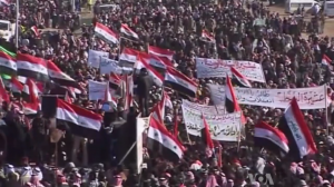 Sunni protests in Iraq