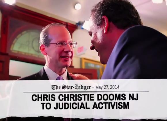 christie judicial activism ad