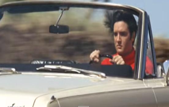 ELVIS DRIVING