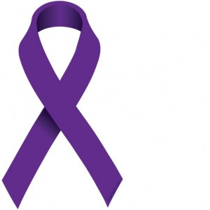 purple ribbon domestic violence