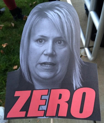 "Belgard (still) can't escape her ill-conceived ""zero"" promise"