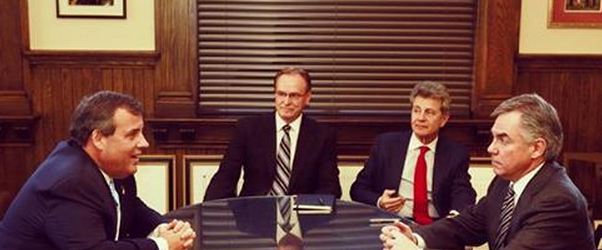 Gov. Christie meets with the Premier of Alberta, Jim Prentice, in Calgary.
