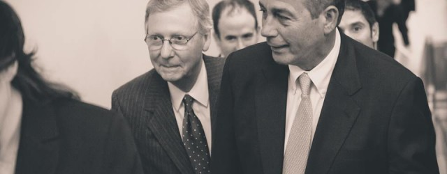 boehner and mcconnell
