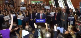 """Trump needles Christie over RNC pledge: """"You don't have to be met when you're at 2%"""""""