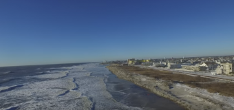 VIDEO: Jarring drone footage of North Wildwood before AND after Jonas