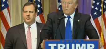 Trump, who once said Christie 'totally knew about' Bridgegate, now comes to his ally's defense