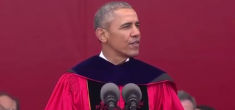 "VIDEO: Obama slams political ""anti-intellectualism"" at Rutgers commencement"
