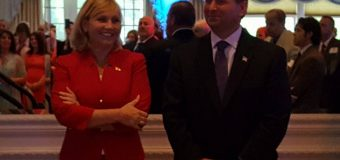 Guadagno gets personal with 400+ crowd at think tank launch