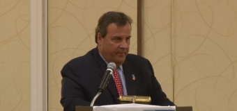 "VIDEO: Christie says #NeverTrump GOP'ers ""working for Hillary"" as RNC faces rules vote"