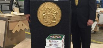 Back at home, Acting Governor Guadagno celebrates record business filings