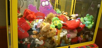 Next up: Trenton targets the claw machine game!