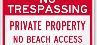 State Moves Closer To Guaranteed Public Access to Beaches And Shore