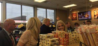 Trump visits Wawa, purchases Tastykakes