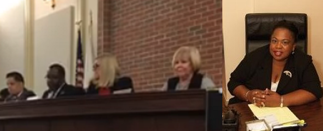 VIDEO: Democrat committeewoman vocally withholds vote to hire white police officer
